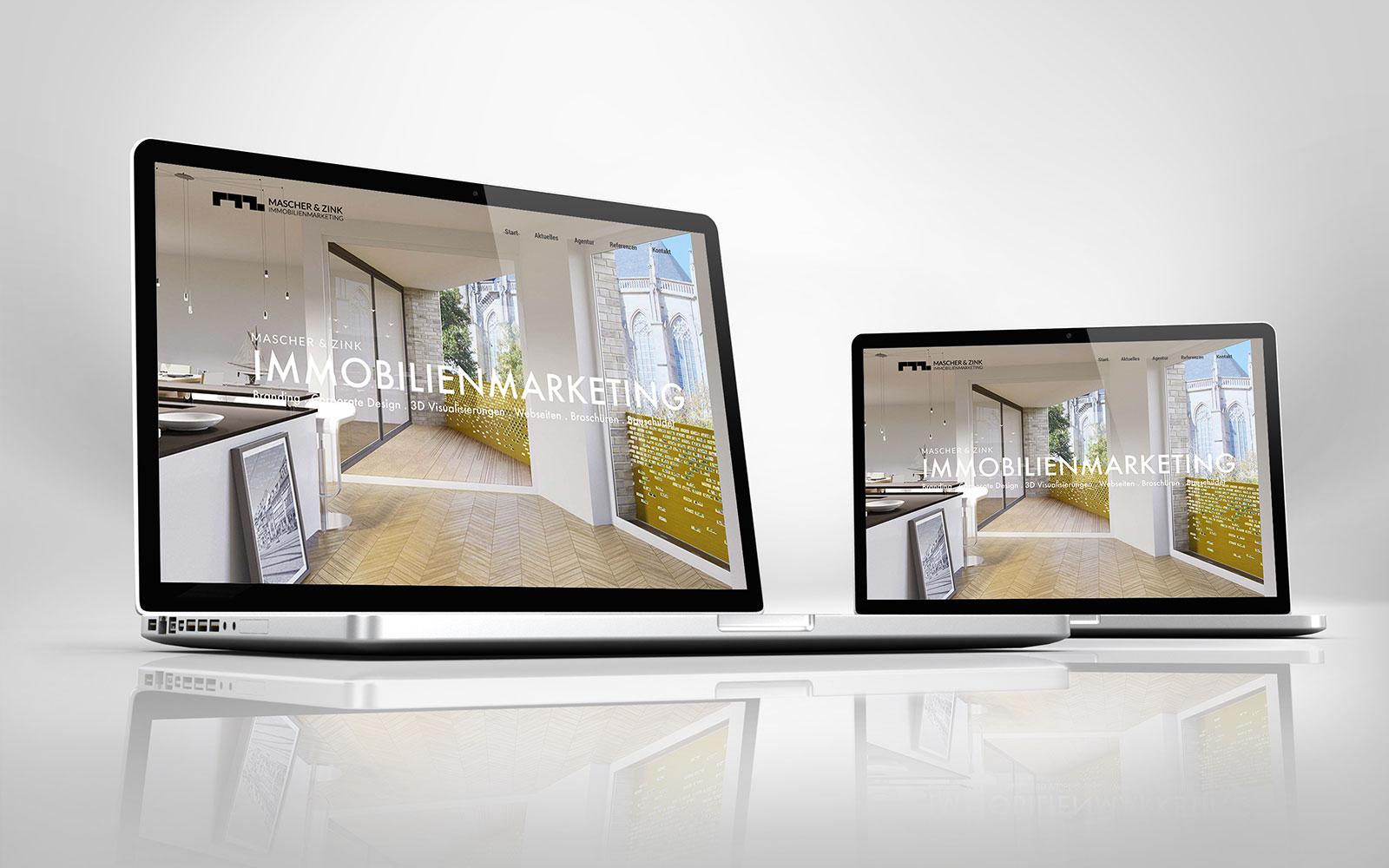 MASCHER & ZINK Immobilienmarketing geht online
